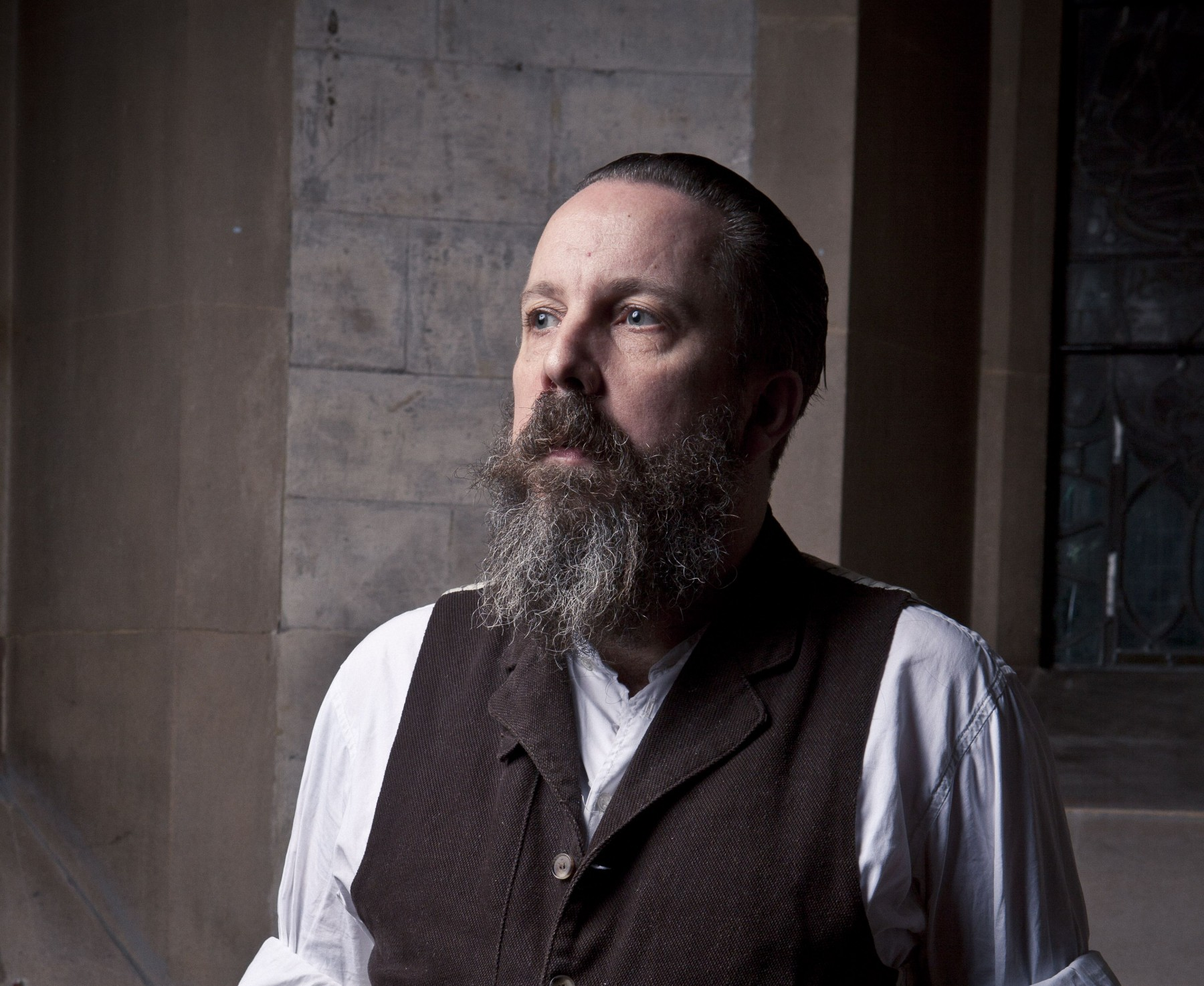 Andrew Weatherall curates a night of music at House of St Barnabas, Soho, London 7/7/12