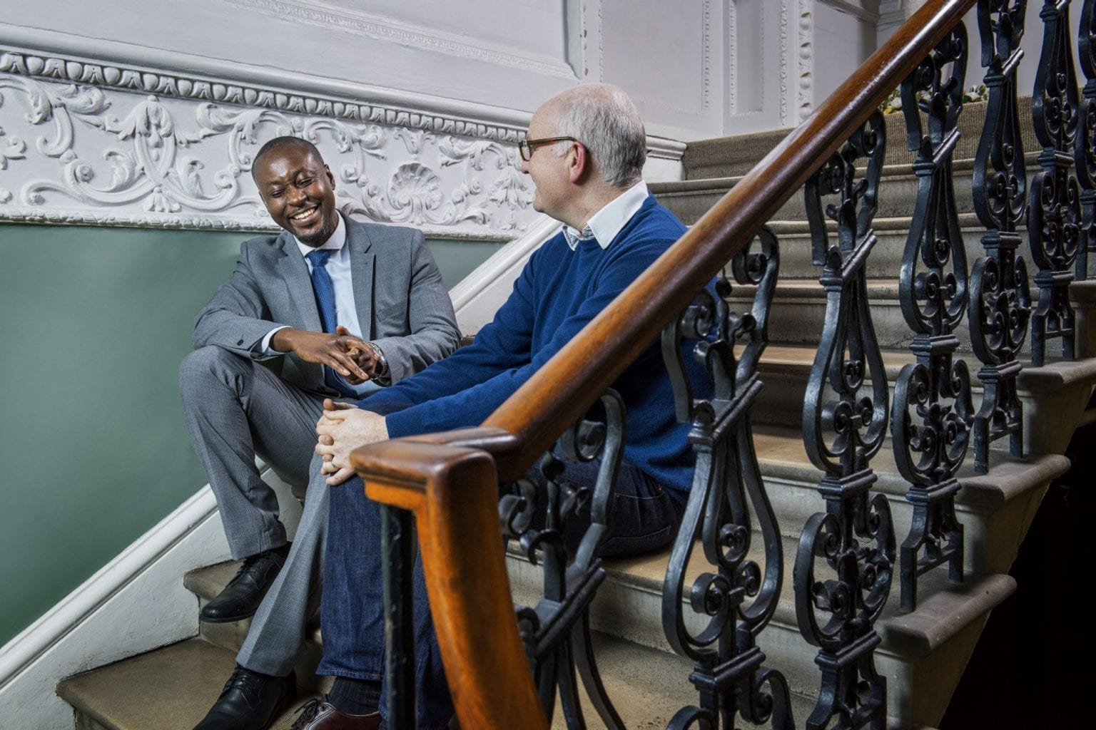 Rob and Victor; the value of mentoring