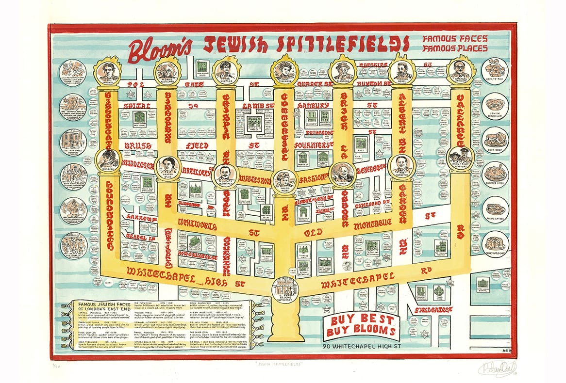 Adam Dant - Jewish Spittlefields (Final) - courtesy of TAG Fine Arts